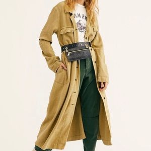 Free people rainz duster trench